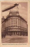 N°193 - TARJETA POSTAL MADRID SPAIN -  El Graf Zeppelin Sobre El Hotel Nacional - CPA MADRID ESPAGNE - Madrid