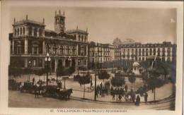 N°194 - Carte N°22 - TARJETA POSTAL VALLADOLID SPAIN - Plaza Mayor Y Ayuntamiento - CPA VALLADOLID ESPAGNE - Valladolid