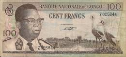 Congo 100F 1962 - Non Classés