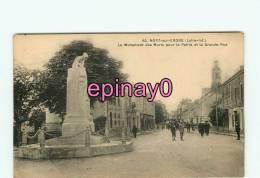 Br - 44 - NORT SUR ERDRE - Monument Aux Morts - Grande Rue - édit. Chapeau - - Nort Sur Erdre