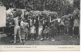 A.E.F. - Chargement De Bananes - Congo - Brazzaville