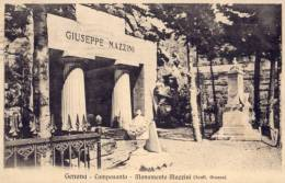 CPA - Genova - Camposanto - Monumento Mazzini ( Scult. Grasso ) - Genova