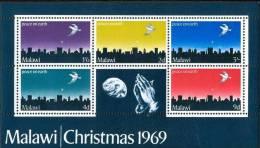 Malawi 1969 Yvertn° Bloc 16 *** MNH  Cote 30 FF Noel Kerstmis Christmas - Malawi (1964-...)