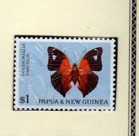 """Papouasie  Nouvelle-Guinée  (1966) """"Papillon"""" Neuf** - Papua Nuova Guinea"""