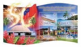 SAMOA 2012 - Paysages, Dances, Pirogue - BF Neufs // Mnh - Samoa