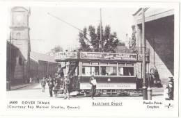Dover Trams - Buckland Depot - & Tram - Dover