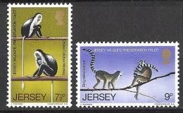 N° 45 Et N° 46 De Jersey - X X - ( E 946 ) - Apen