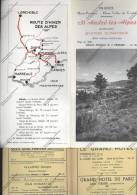 Dépliant  Touristique SAINT ST ANDRE LES ALPES Basses Alpes Haute Provence Vallée Du Verdon - Publicidad