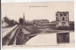 70  LURE   Le Le Pont De L'Ognon Et Quartier De Cavalerie      éditions CLB - Lure
