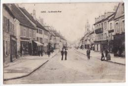 70  LURE   La Grande Rue      éditions - Lure