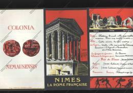 Dépliant Touristique  NIMES La Rome Française - Werbung
