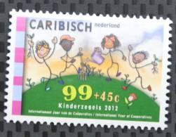 CARIBISCH NEDERLAND 2012 ++  SERIE ++ KINDERZEGELS CHILDREN ENFANTS MNH POSTFRIS ** - Curacao, Netherlands Antilles, Aruba