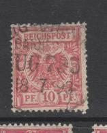 Yvert 47 Oblitéré - Germania