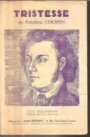 TRISTESSE De Frédéric CHOPIN - Partitions Musicales Anciennes