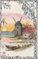 CHROMO Dentelles  MAISON  SOUBES  Moulin Et Barque   Excellent état - Trade Cards