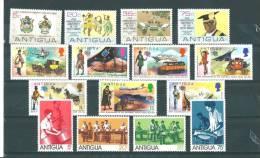 Antigua: 316/ 319 + 325/ 335 ** - Antigua Et Barbuda (1981-...)