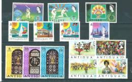 Antigua: 288/ 297 + 303/ 306 ** - Antigua Et Barbuda (1981-...)