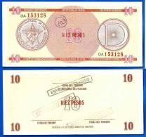 Cuba 10 Pesos D Mince Fine D Kuba Pesos Caraibe Caribe Certificat Paypal Skrill OK - Cuba