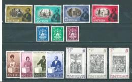 Antigua: 219/ 221 + 228/ 231 + 258/ 264 ** - Antigua Et Barbuda (1981-...)