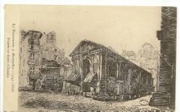 LA POISSONERIE A MONTPELLIER ( 1747-1858 ) D'Après Un Déssin D'AMELIN - Montpellier