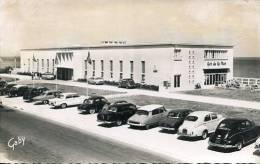 N°25876 -cpsm Luc Sur Mer-le Casino- -voitures : 203, 403, Ds, Panhard, Dauphine - Turismo