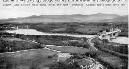 "Beatiful   Old  Post Card    ""  Menai Straits From,  Llandysilio  "" - Pays De Galles"