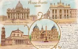 ROMA ROME  ANNO SANTO 1900 VATICAN  MULTIVUES - Unclassified