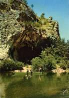 """Gorges Du Tarn La Grotte De La Momie Dans """"les Détroits"""" (48) Barque Carte Animée - Gorges Du Tarn"""
