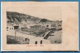 YEMEN --  Aden - Steamer - Yémen