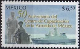 CENTRE DE FORMATION DE LA MARINE MEXICAINE De Veracruz (Navire & Marins) Un T-p Neuf ** - Mexique