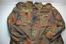 Veste L Large (175-185 GR11) Camouflage Allemand FLECKTARN (camo) Idéal Chasse, Airsoft / Paintball. - Uniformes