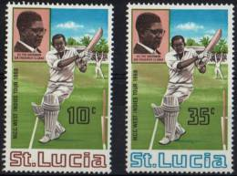 SAINT LUCIA 1968 - CRICKET CHAMPIONSHIPS IN THE CARIBBEAN - MINT - Cricket