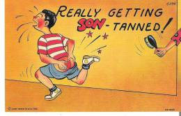 Really Getting Son-Tanned! - Humour
