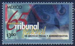 Mexique. Tribunal Federal  (tete De Hibou !)  Un T-p ** 2001 - Hiboux & Chouettes