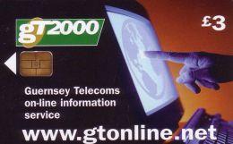 GT 2000 Guernsey Telecoms On-line Information Service ( Guernsey ) - Ver. Königreich