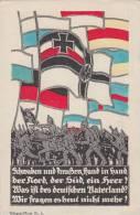 DR Propagandakarte 1.WK Schwaben Und Preußen, Hand In Hand...... Nicht Gelaufen Seltene Karte - Deutschland