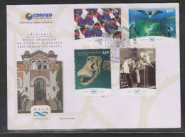 R)CORREO ARGENTINA 2012 ,FOSSILS DINOUSAURS BUTTERFLIES  BIRDS, MUSEO ARGENTINO CIENCIAS NATURALES DE RIVADAVIA. - Nuovi