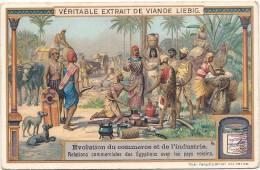 Evolution Du Commerce Et De L'industrie  Relation Commerciale Avec Les Egyptiens   TTB - Liebig