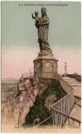 """43 - Le Puy - Statue De N.-D. De France - Editions Idéal """"La Haute-Loire Pittoresque"""" N° 8038 (non Circulée,  Colorisée) - Le Puy En Velay"""