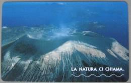 NUOVA -1851- (MINT)-TELECOM ITALIA--LA NATURA CI CHIAMA-ISOLA DI VULCANO--DA E.7,50 - Vulcani