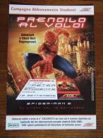 Spiderman Carte Postale - Advertising