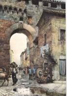 Roma Sparita-di E.roesler Franz- Un Arco Del Corridoio Di Borgo .-oto 21 - Non Classificati