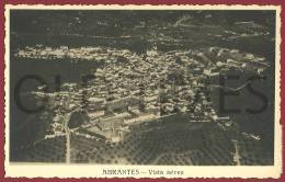 PORTUGAL - ABRANTES - VISTA AEREA - 1940 REAL PHOTO PC - Santarem