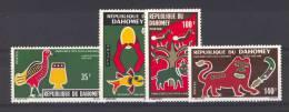 Dahomay  -  1971  :  Yv  307-10  **  4 Valeurs Du Premier Tirage - Bénin – Dahomey (1960-...)