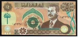 Irak Banknote , Central Bank Of Irak / Iraq , 50 ( Fifty ) Dinars 1991 - Saddam Hussein - Irak