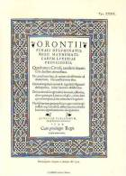 Frontespizio D'opera A Stampa Del 1544 - Immagine Tagliata