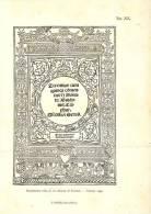 Inquadratura Tolta Da Un Edizione Di Terenzio - Venezia 1499 - Immagine Tagliata
