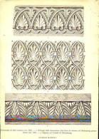 Ornamento Di Stile Romano - Fusto Colonna Buchenberg - Goslar - Sagoma Nel Castello Di Munzenberg - Immagine Tagliata