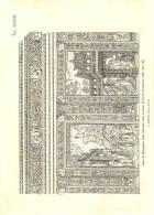 Parte Di Basamento Nella Facciata Della Certosa Di Pavia - Immagine Tagliata