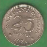 25  Rupiah  INDONESIE   1971  (PRIX FIXE)   (BC16) - Indonesia